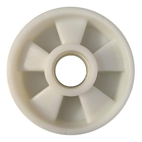 Imagem 1 de 3 de Roda Direcional Nylon Paleteira - 160 X 47 - Várias Marcas