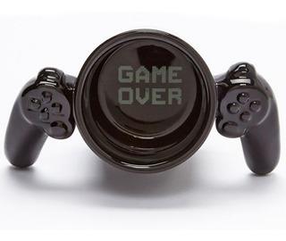 Taza Gamer De Ceramica Control Video Juegos Game Over H1291