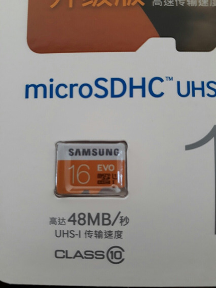 Cartão Micro Sd 16gb Samsung