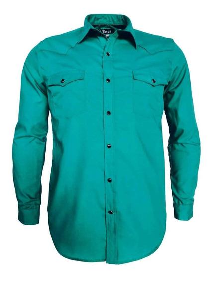 Camisas Vaqueras Manga Larga Jade Para Hombre