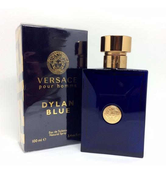 Versace Dylan Blue 100ml Masculino   Ganhe Amostra De Brinde