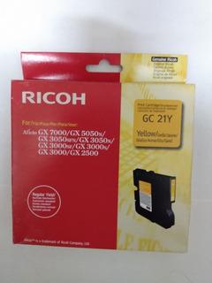 Ricoh Gc 21y Cartucho De Tinta Original Yellow