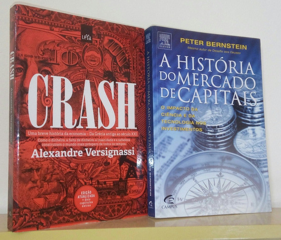 Crash História Da Economia + História Do Mercado De Capitais