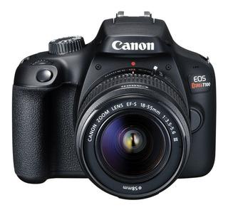 Cámara Canon Eos Rebel T100 Kit 18-55 Reflex Full Hd Wifi