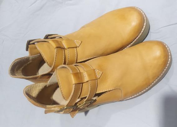 Zapatos De Cuero De Dama