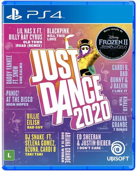 Just Dance 2020 Playstation 4 Ps4 Mídia Física Lacrado Novo