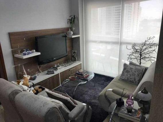 Apartamento Em Vila Mariana, São Paulo/sp De 88m² 3 Quartos À Venda Por R$ 1.090.000,00 - Ap270362