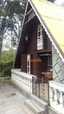 Chácara Com 2 Dormitórios À Venda, 1962 M² Por R$ 300.000 - Jardim Da Serra - São Lourenço Da Serra/sp - Ch0364