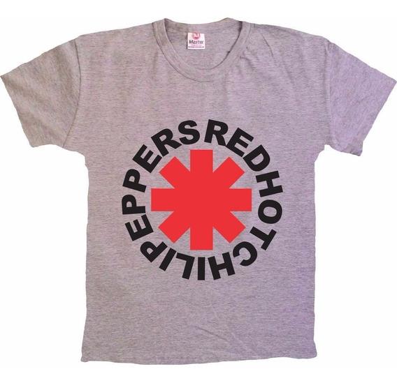 Camisetas Rock - Rhcp - Red Hot Chili Peppers - 100% Algodão
