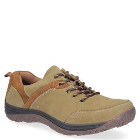 Zapato Casual Pluma Hombre Verde - T824