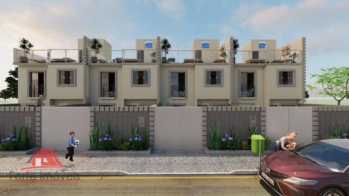 Casa C/ 2 Dormitórios Em Obra No B. Jardim Letícia - Cg/rj - Ca0447