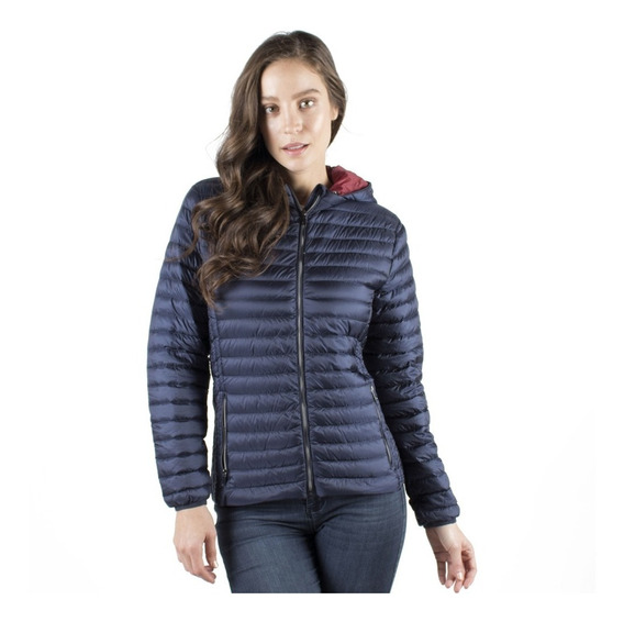 Chamarra Mujer Moda Greenlander Pol6800 Pluma De Ganso