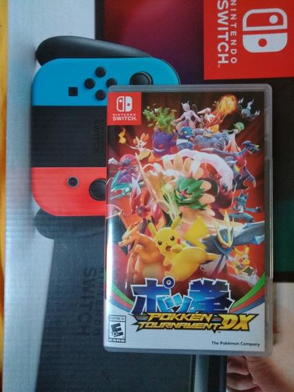 Pokken Tournament Dx Jogo Físico Nintendo Switch