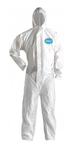 Buzo Desechable Steelgen Blanco (m/l/xl/xxxl)