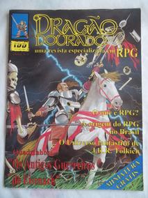Revista Dragão Dourado Ano 1 Nº 1 Rpg 1994 Muito Rara Única