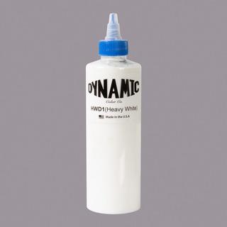 Dynamic Tattoo Ink Heavy White 8 Oz