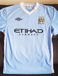 Camisa Manchester City 2011 2012 #7 Milner - Colecionador