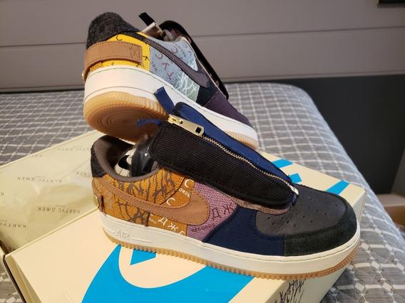 Tênis Nike Air Force 1 Travis Scott Cactus Jack | 41br | Og