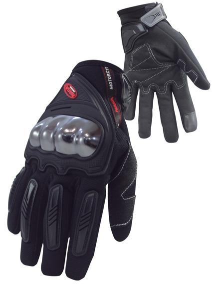 Luva Proteção Moto Motocilista Bike Ciclista Nasa Shield