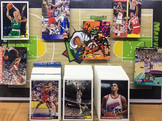 Set Upperdeck 1992-1993 Serie 1 Completo Michael Jordan