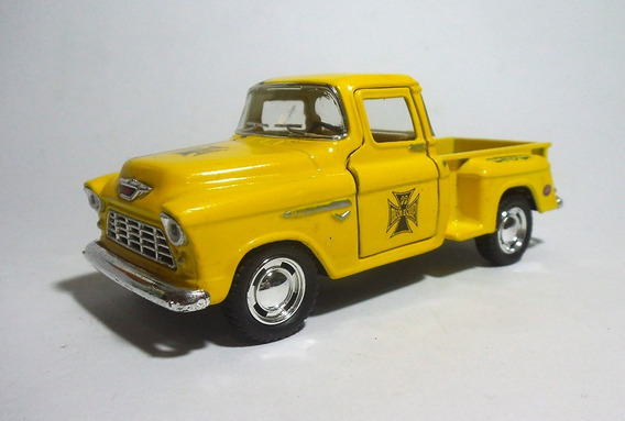 1955 Chevy Stepside Mooneyes - 1/32 - Kinsmart - Custom