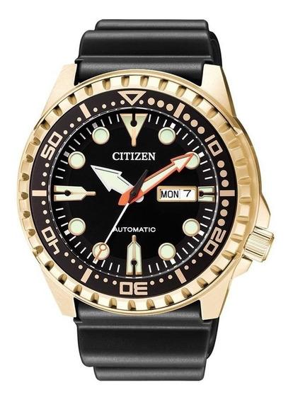 Relógio Citizen Masculino Ref: Tz31123u Automático Dourado
