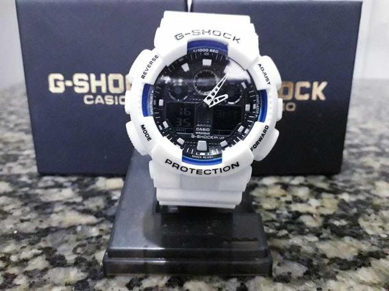 Relógio G Shock Branco 100% Á Prova D