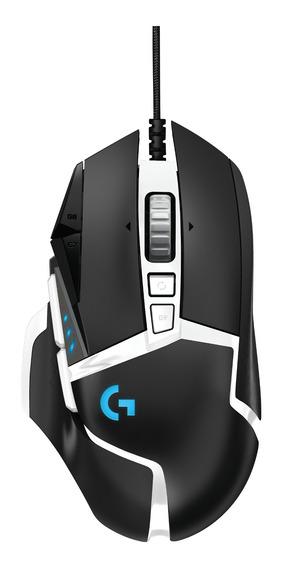 Mouse Logitech G502 Hero Usb Rgb 16.000 Dpi 11 Botoes Preto