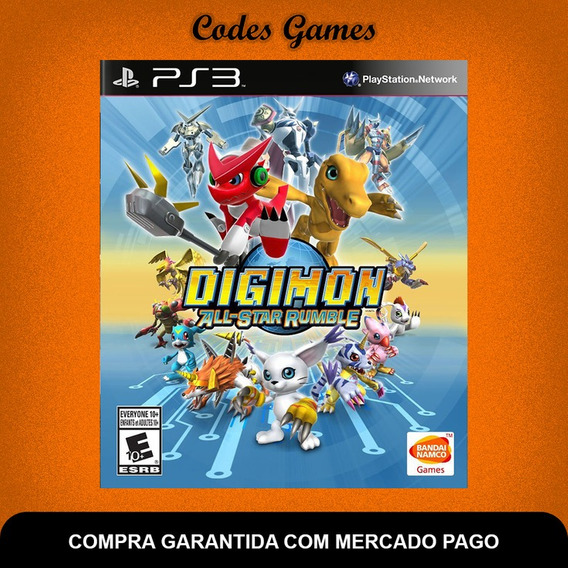 Digimon All-star Rumble - Ps3 - Legendado Português
