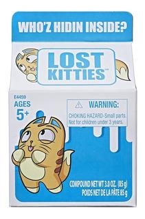 Muñeco Lost Kitties - Cajita Sorpresa - Serie 2