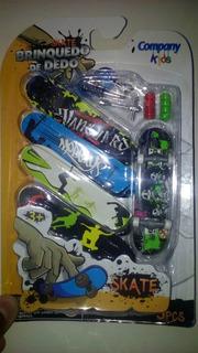 Skate De Dedo 5 Peças 15 Unidades Por