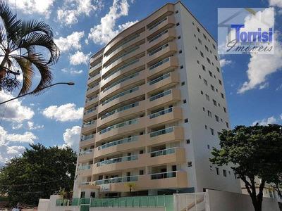 Apartamento Em Praia Grande, 02 Dormitórios Sendo 01 Suite, Sacada Gourmet Com Lazer No Forte Ap1275 - Ap1275
