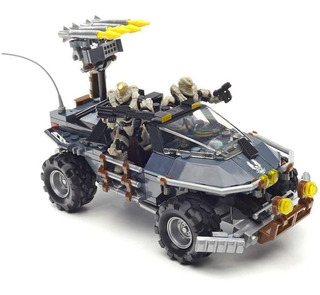 Mega Bloks Warthog Modalidad Dual