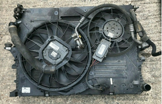 Audi Q7 Pacha De Radiadores Originales Con Electroventilador