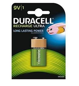 Bateria Duracell 9v Recarregavel