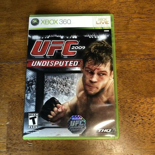 Ufc 2009 Undisputed -juego -xbox 360