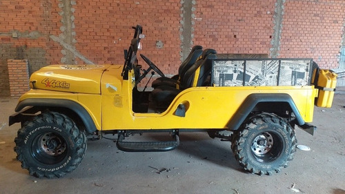 Imagem 1 de 5 de Jeep Willys 6cc