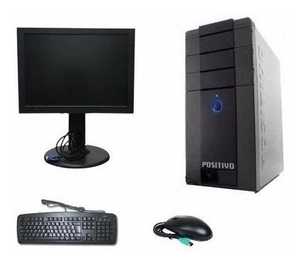 Cpu Semi Nova Pentium 4 2 Gb Hd 80gb + Monitor 15