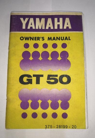 Manual Do Proprietário Gt50 72-74 Owner