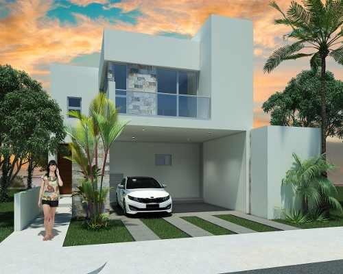 Residencia En Pre-venta En Privada En Conkal