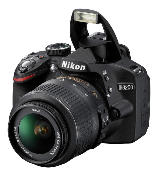 Câmera Profissional, Nikon D3200