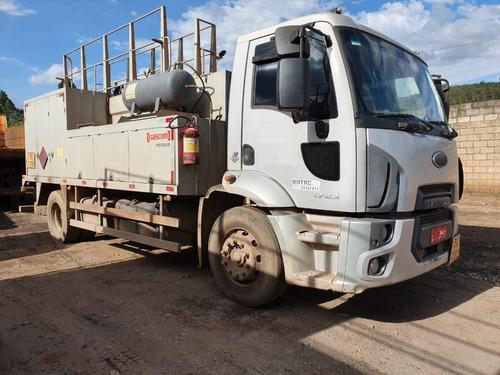Ford Cargo 1723 4x2 Ano 2014 Comboio Gascom