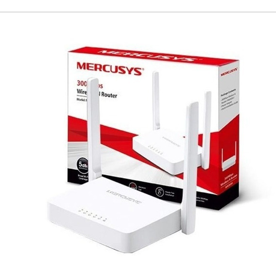 Roteador Wireless N 300 Mbps Mw301r Ipv6 Mercusys