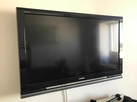 Tv Sony Bravia Com Suporte De Parede E Antena Digital