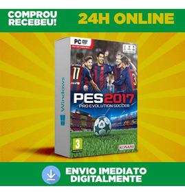 Pes 2017 Pc + Pro Evolution Soccer 2017 Envio Na Hora 24h