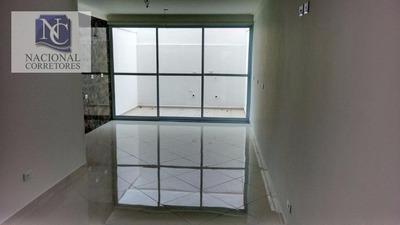 Sobrado Com 3 Dormitórios À Venda, 188 M² Por R$ 535.000 - Vila Curuçá - Santo André/sp - So1244