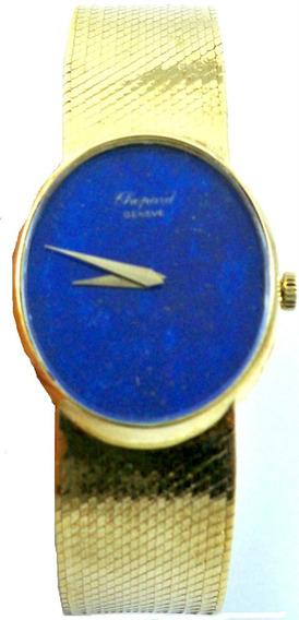 Chopard - Feminino - Ouro - Lápis Lazuli - Manual - Déc 70