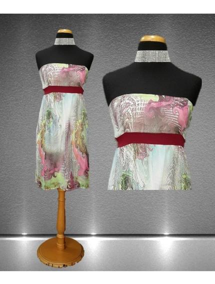 Vestido Corto Multicolor
