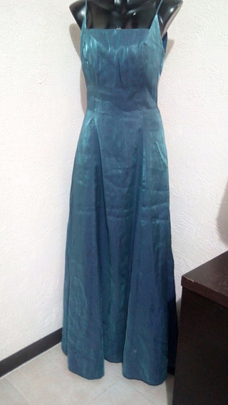 Vestido Tornazol Azul Liz Minelli