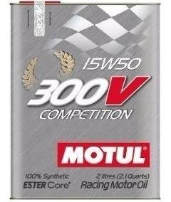 300v 15w50 Competition-100% Sintético Lata Com 2 Litros